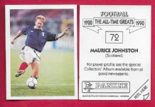 Scotland Maurice Johnston Glasgow 72